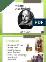 ShakespeareLifeTimesIntroductionPowerpointPresentation.ppt
