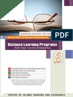 Alhuda cibe - Distance learning profile - International