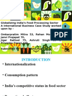 IB-Food Processing Sector