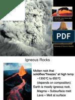 Lecture 4A Igneous Rocks