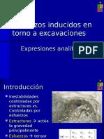 11-Esfuerzos Inducidos Entorno a Excavaciones