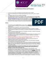 YIA Policies and Procedures Page