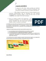 Objetivos de La Creación Del BRICS
