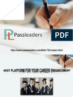 Passleader 642-732 Questions Answers
