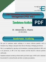 Sandstone Acidizing