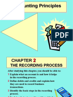Accounting Chapter 2- Analyzing and Recording Transactions
