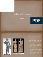 Fashion History Indian