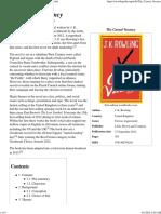 The Casual Vacancy - Wikipedia, The Free Encyclopedia