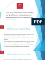 Marianas Medical Education_NMAT Exam Philippines