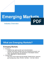 Emerging Markets Overview