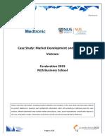 Cerebration 2015 - Medtronic Case