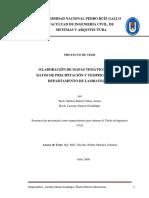 Tesis ELABORACIÓN DE MAPAS TEMÁTICOS UTILIZANDO DATOS DE PRECIPITACIÓN Y TEMPERATURA