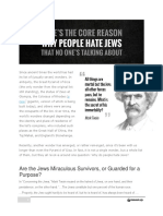 Why People Hate Jews Michael Laitman