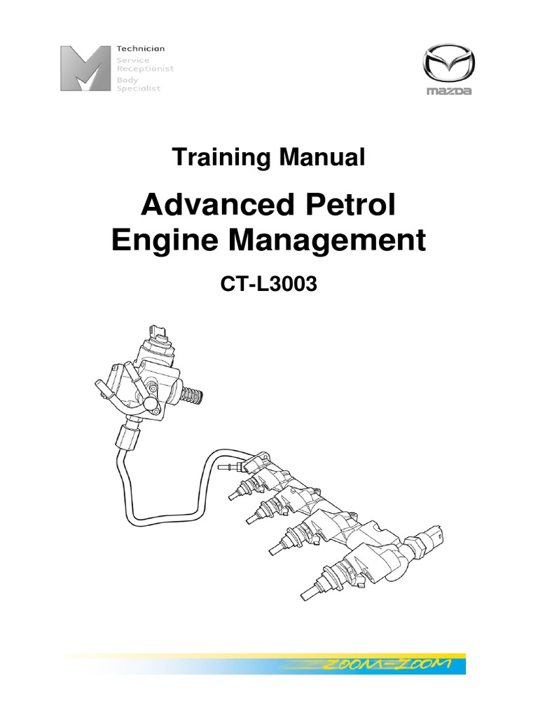 MAZDA Advanced Petrol Engine Management English