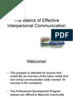 effective demonstrative communication
