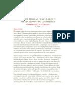 Alfredo González Chaves_ Las 'Sia'. Piedras Oraculares o Adivinatorias de Los Bribris. 1a. Parte