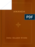 - Anna Balmer Myers -- Amanda (a Daughter of the Mennonites)