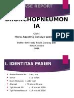 Slide CR Bronkhopneumonia