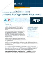 Case Study - Enabling Customer Centric Experience
