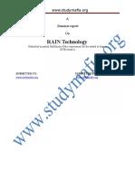 ECE Rain Technology Report