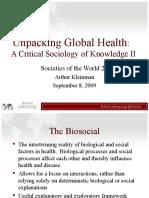 Unpacking Global Health II