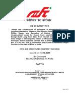 Bid Doc Sone Junction Arrangement Part-5 Final 12-10-2015
