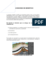 Concesiones de Beneficio (1)