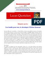Lacan Quotidien