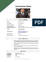 Mr Jean-Pierre Horn CV