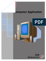 Application of Computer New
