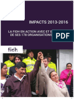 Impacts 2013-2016