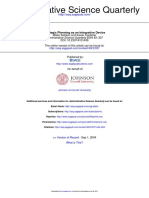 Administrative Science Quarterly 2004 Ketokivi 337 65
