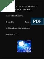 El Impacto de Las Tecnologias en Nuestro Entorno PDF