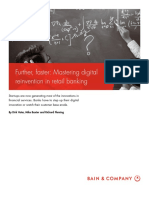 BAIN Brief_Further, Faster - Mastering Digital Reinvention in Retail Banking