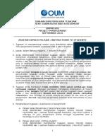 EMPM5203 PROJECT MANAGEMENT