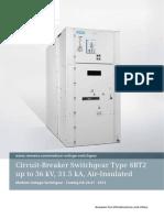 Catalog HA 26.41 Switchgear Type 8BT2 AIR INSULATED