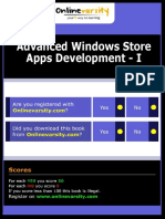 Advance Windows Store Apps Development - I_v1.0_INTL