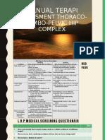 4a. Manual terapi= assesment TL dan pelvic Hip Complex