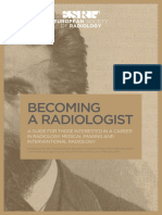 ESR 2014 Becoming a Radiologist Broschuere Web