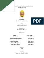 Informe de Software de Aplicacion