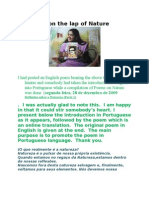 Upon the lap of Nature - Introduction in Portuguese - Subramanian A