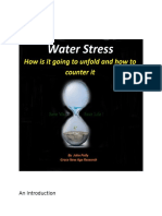 Water Stress - How it is unfolding and How to counter it