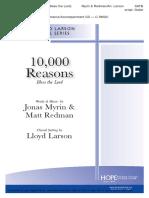 10,000 Reasons- Choir
