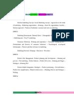 Marketing Management Book 1st Sem Mba