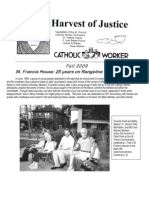 Harvest of Justice Fall 2009