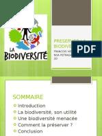 PRESERVER LA BIODIVERSITE.pptx