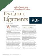 Tom Myers Dynamic Ligaments