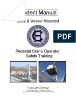Pedestal Crane Student Manual