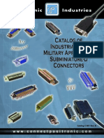 Positronic Sub D Connector