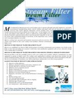 Metcon Side Stream Filter Catalogue